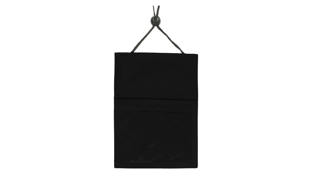 3-Pocket Nylon Credential Holder - 100