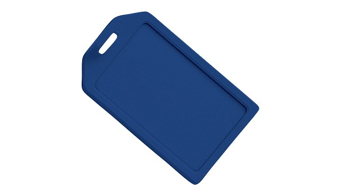 Rigid Luggage Tag Holder - 100