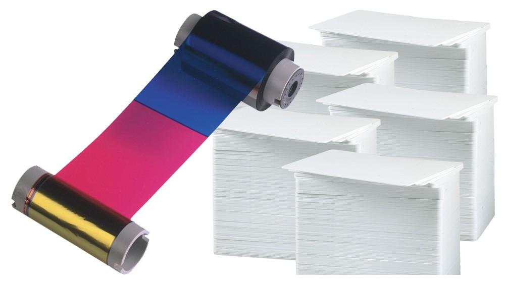 Printer Resupply Pack - 86201 Ribbon & PVC Cards