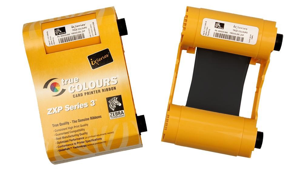 Zebra Black ZXP Series 3 Ribbon - 1000 Prints