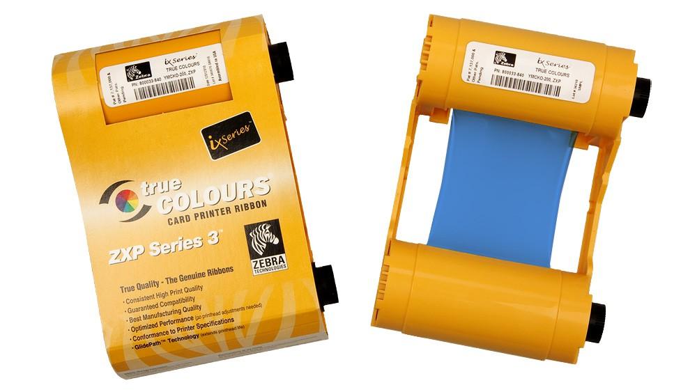 Zebra Blue ZXP Series 3 Ribbon - 1000 Prints