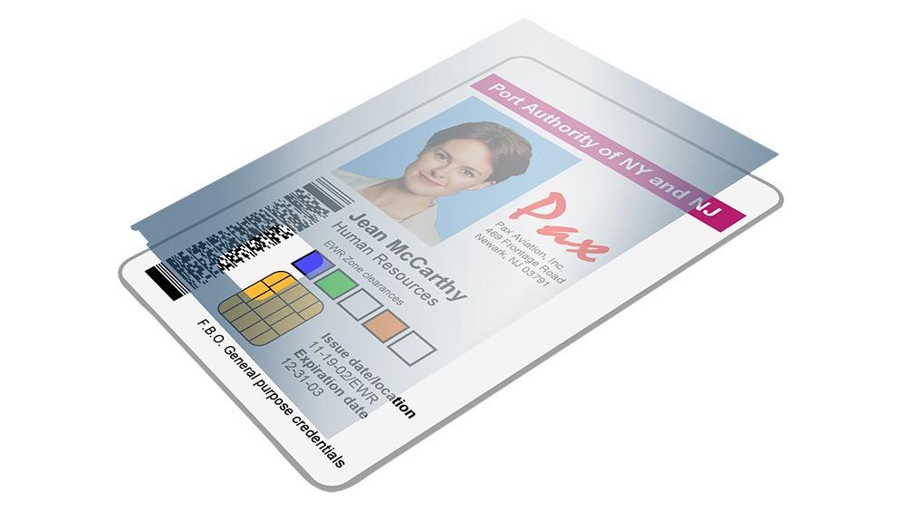 Zebra Smart Card Clear Laminate Patch - 100 Prints