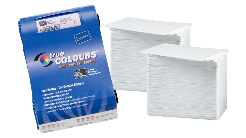 Printer Resupply Pack - 800015-948 Ribbon & PVC Cards