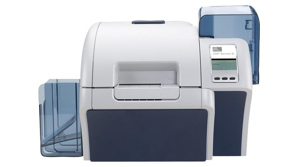 Zebra ZXP Series 8 Retransfer Dual-Sided Card Printer