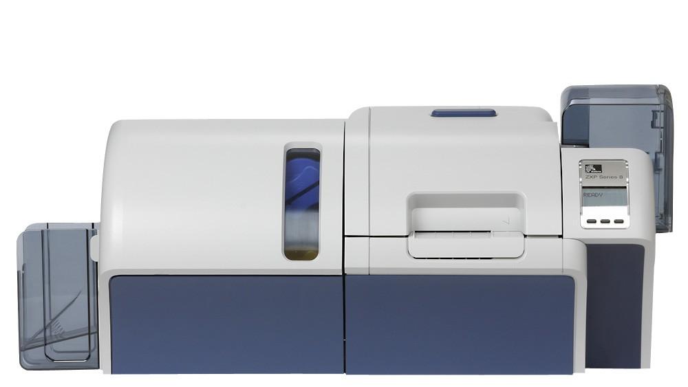 Zebra ZXP Series 8 Dual Sided Laminating Retransfer Card Printer