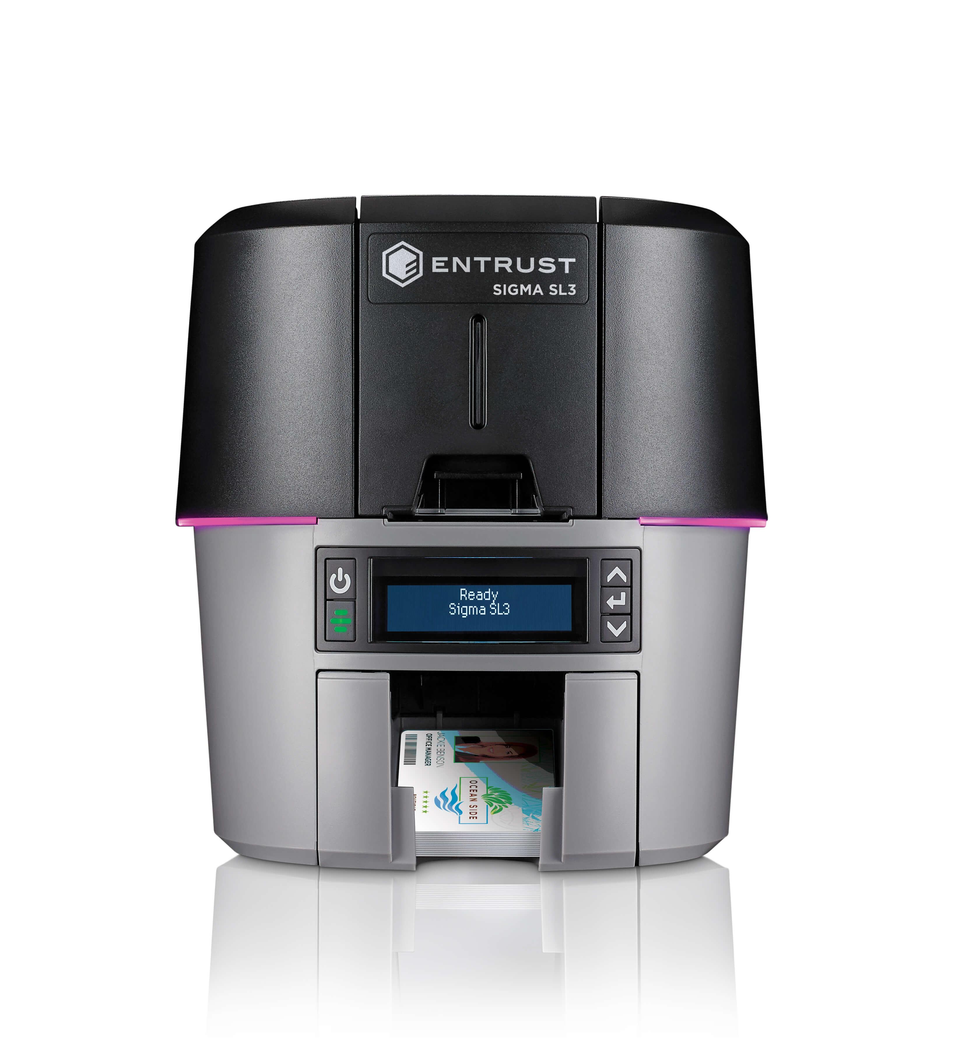 Entrust Datacard Sigma SL3 Single-Sided ID Card Printer