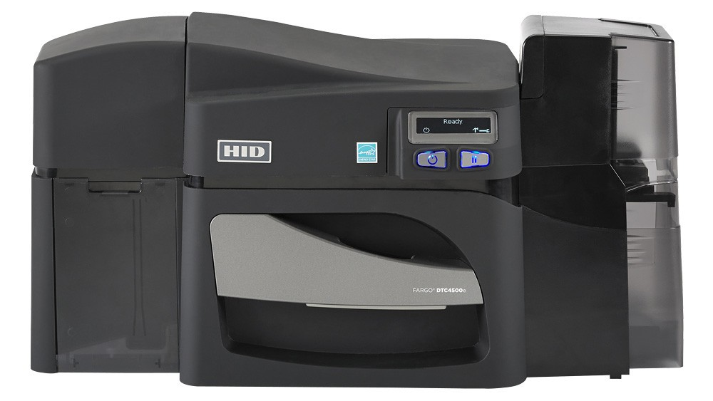Fargo DTC4500e ID Card Printer 55130