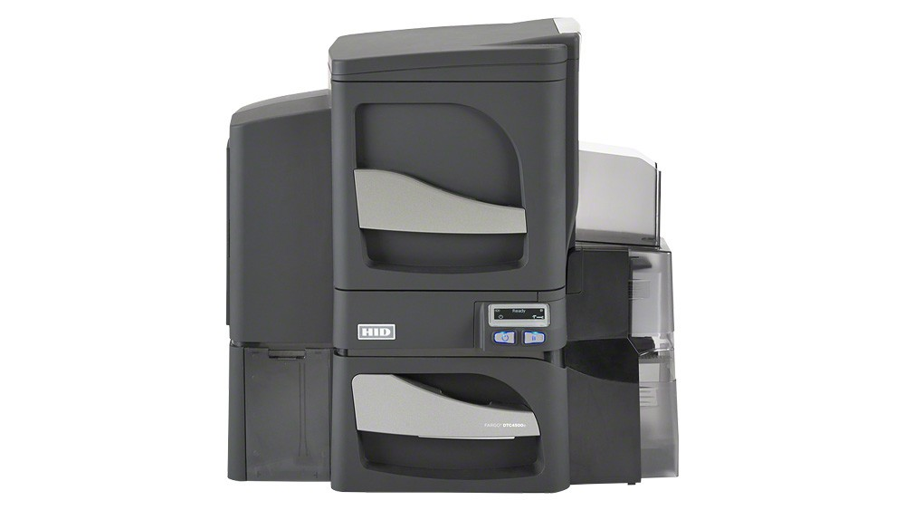 Fargo DTC4500e Dual-Sided ID Card Printer - Single-Sided Lamination