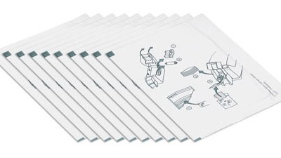 Entrust Datacard Adhesive Cleaning Cards