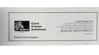 Zebra Cleaning Kit - Cleaning Cards for P330i - 50 count