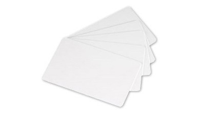 Evolis Rewritable PVC Cards (Black) - 100 cards