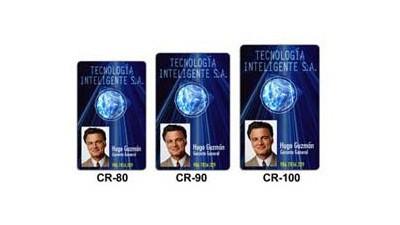 Fargo CR-100 UltraCard Hi-Co 30 mil - 500 Cards