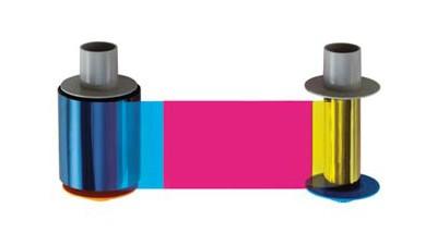 Fargo Color Ribbon with Flourescing Panel YMCFK - HDP5000 - 250 Print