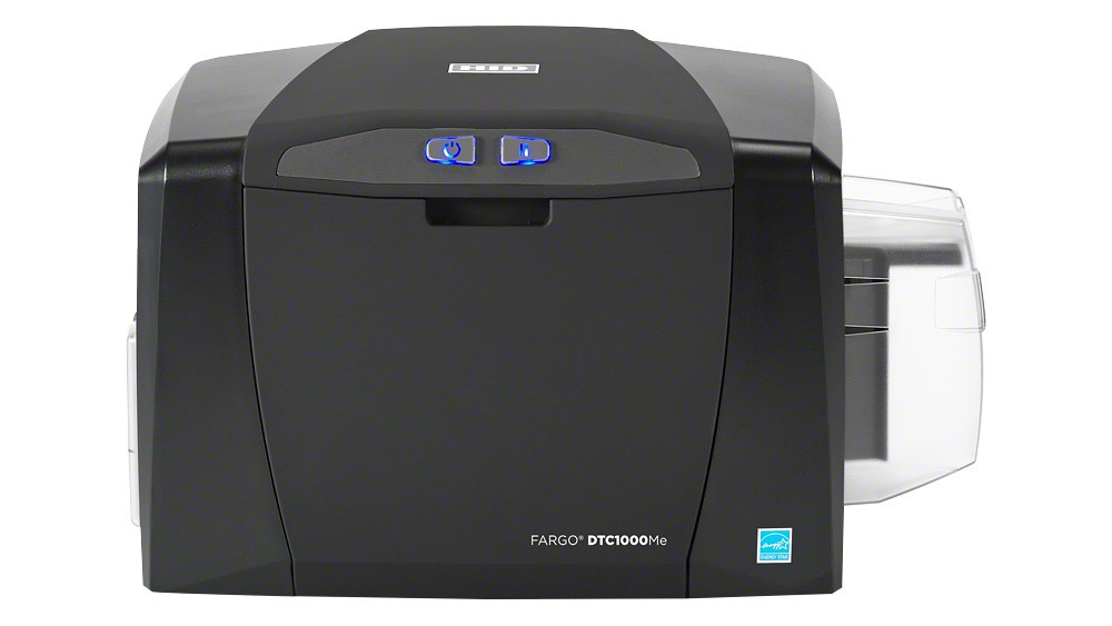 Fargo DTC1000Me Monochrome Single-Sided ID Card Printer