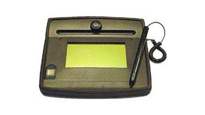 ID Gem 4x3 LCD Fingerprint and Signature Capture