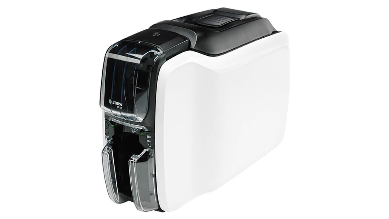 Zebra ZC100 ID Card Printer ZC11-000C000US00