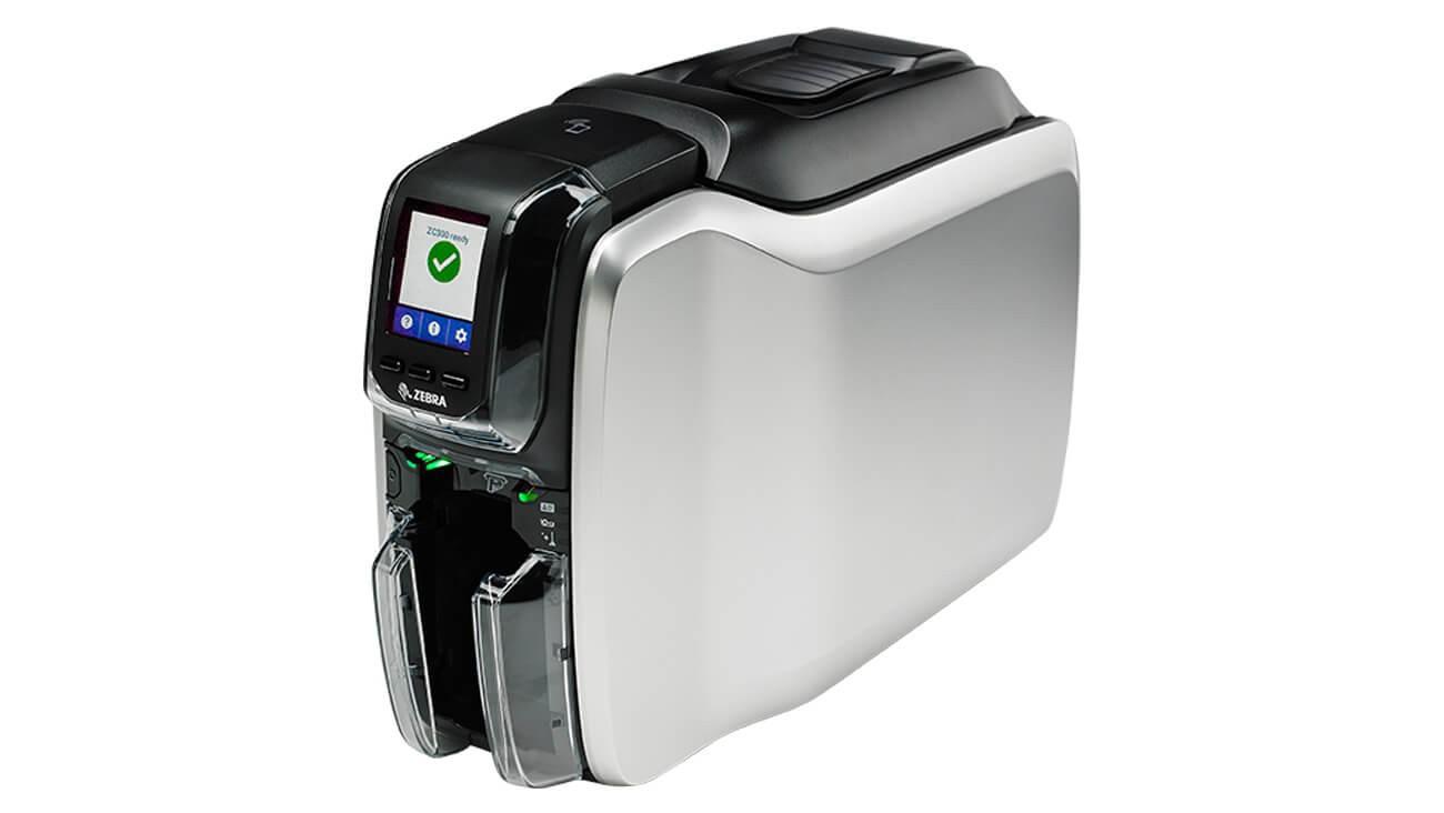 Zebra ZC300 ID Card Printer ZC31-000W000US00