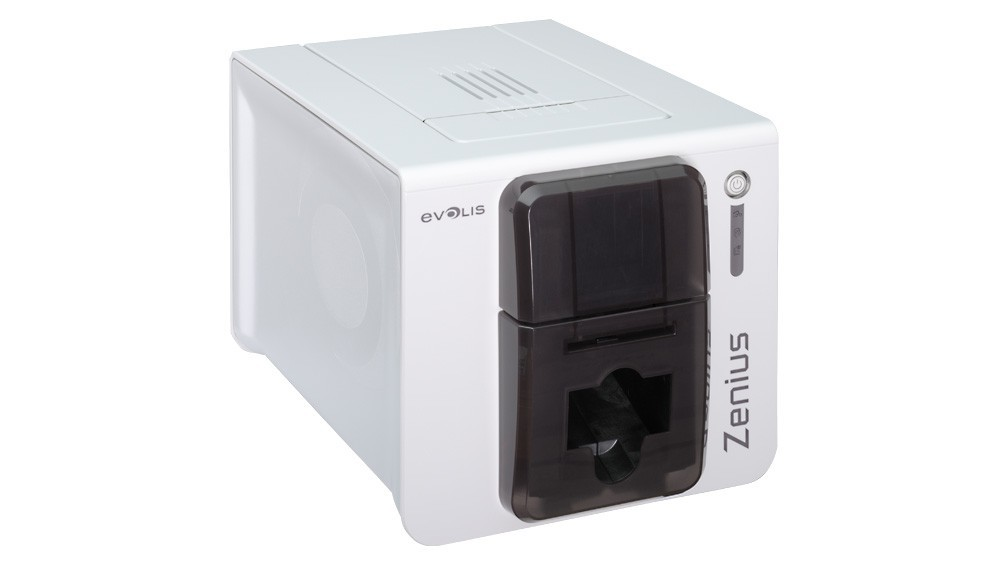 Evolis Zenius ID Card Printer ZN1H0000TS