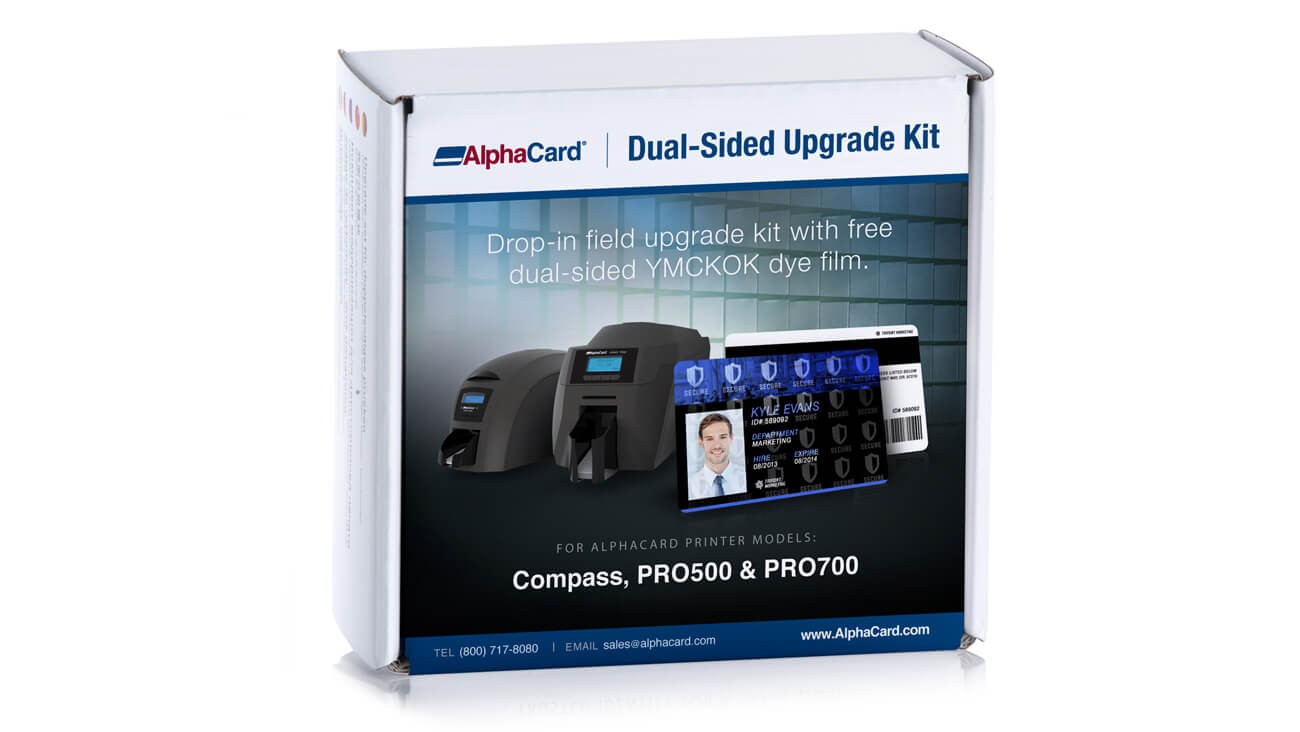 AlphaCard Printer Dual-Sided Upgrade Kit