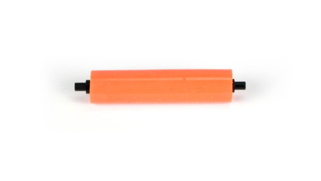 AlphaCard Cleaning Roller Spindle (Orange Roller) for PRO 100, PRO 500, Pilot & Compass Printers