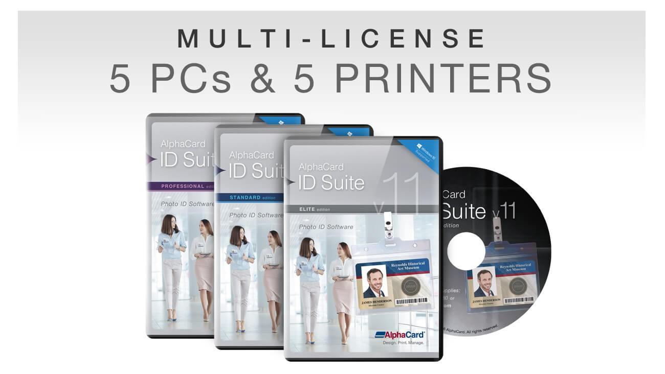 AlphaCard ID Suite Print Server v.11 Bundle