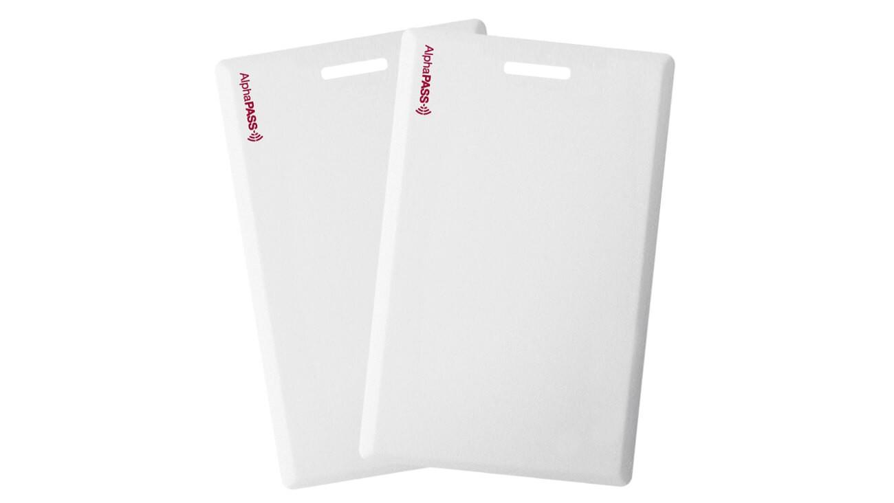 AlphaPass Prox Clamshell Cards