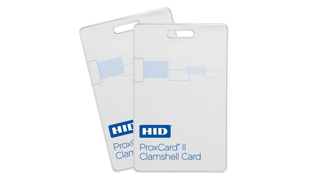 HID Prox II Clamshell Proximity Card