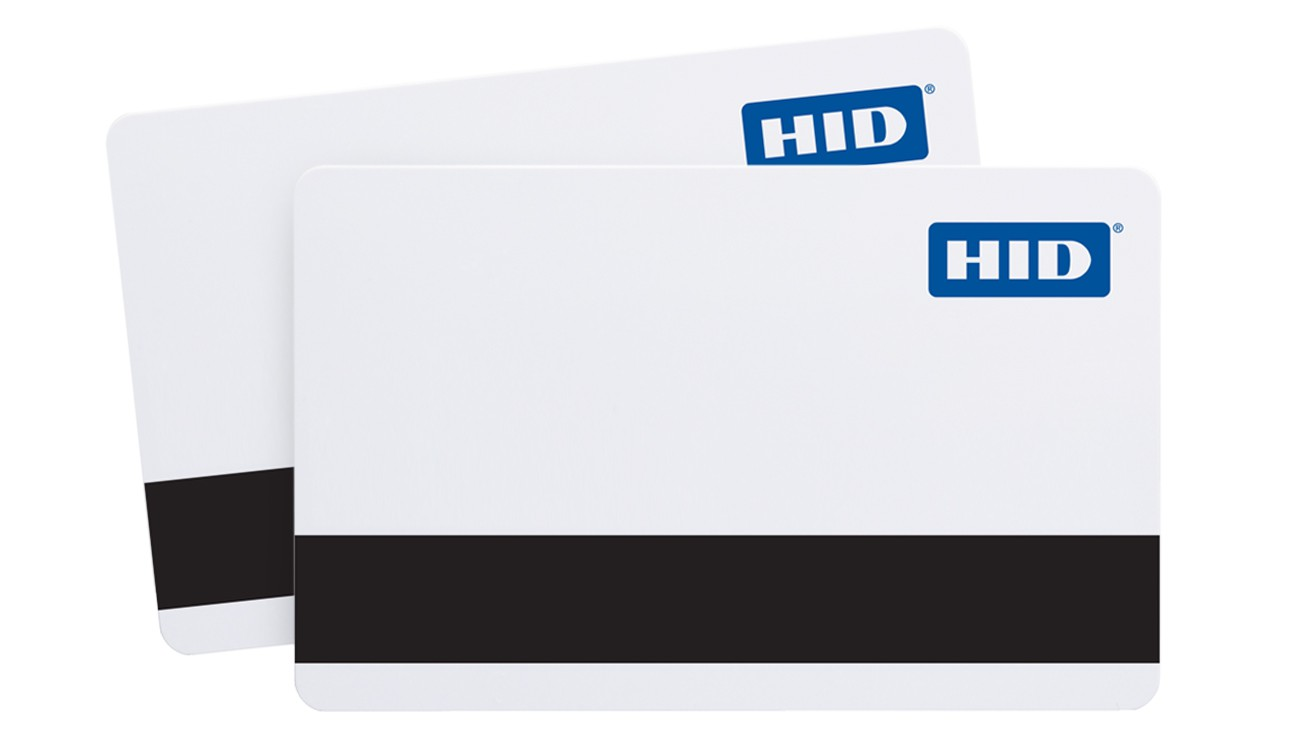 HID 1336 DuoProx II PVC Magnetic Stripe Prox Cards