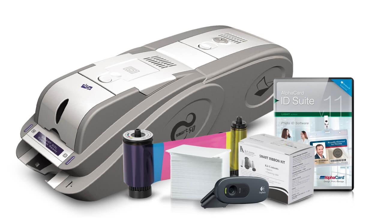 IDP Smart 50 Laminating ID Card Printer System