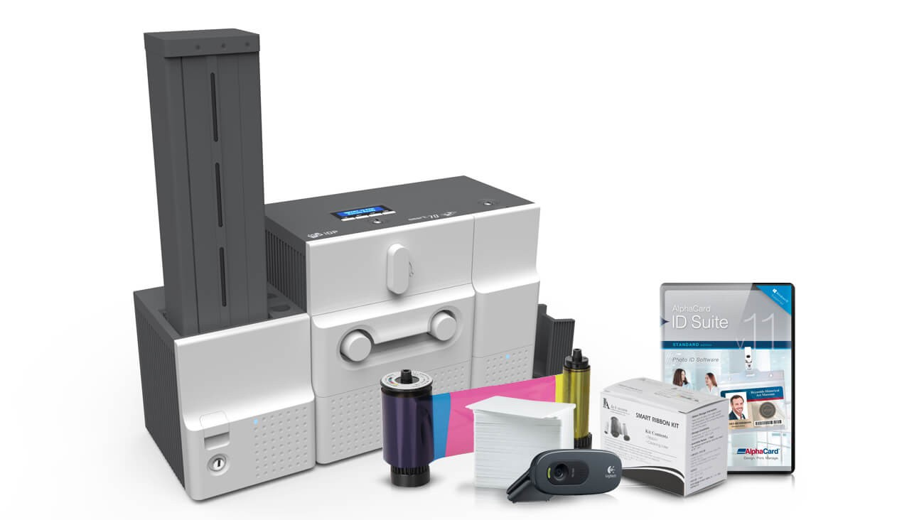 IDP Smart 70 ID Card Printer System