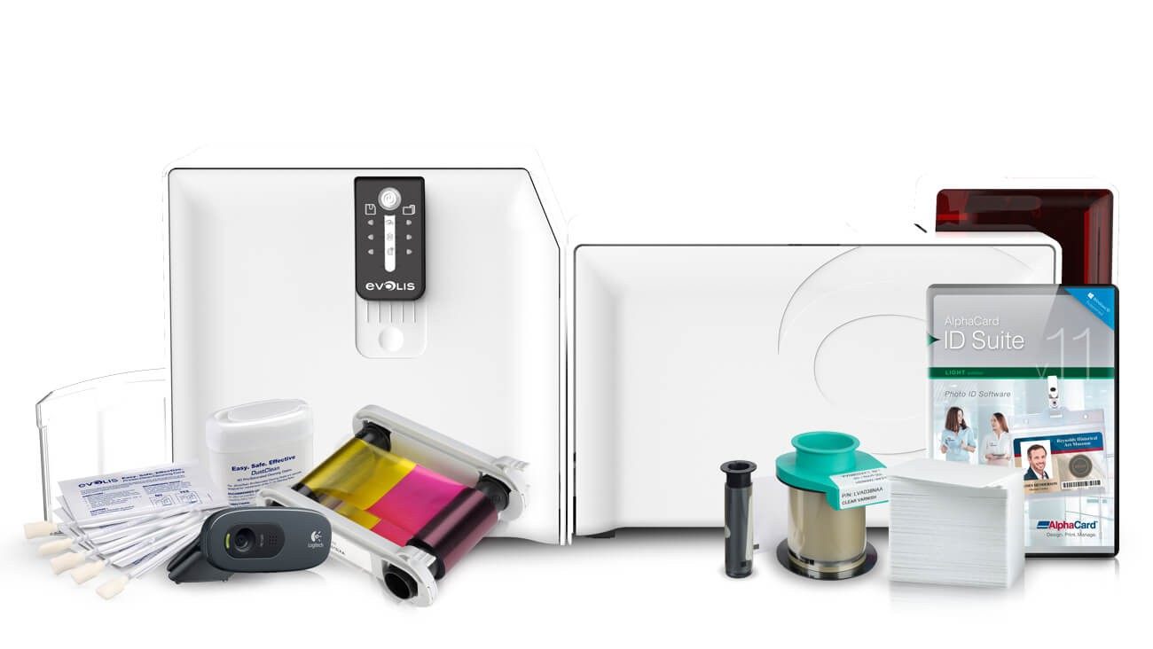 Evolis Primacy ID Card System with Lamination
