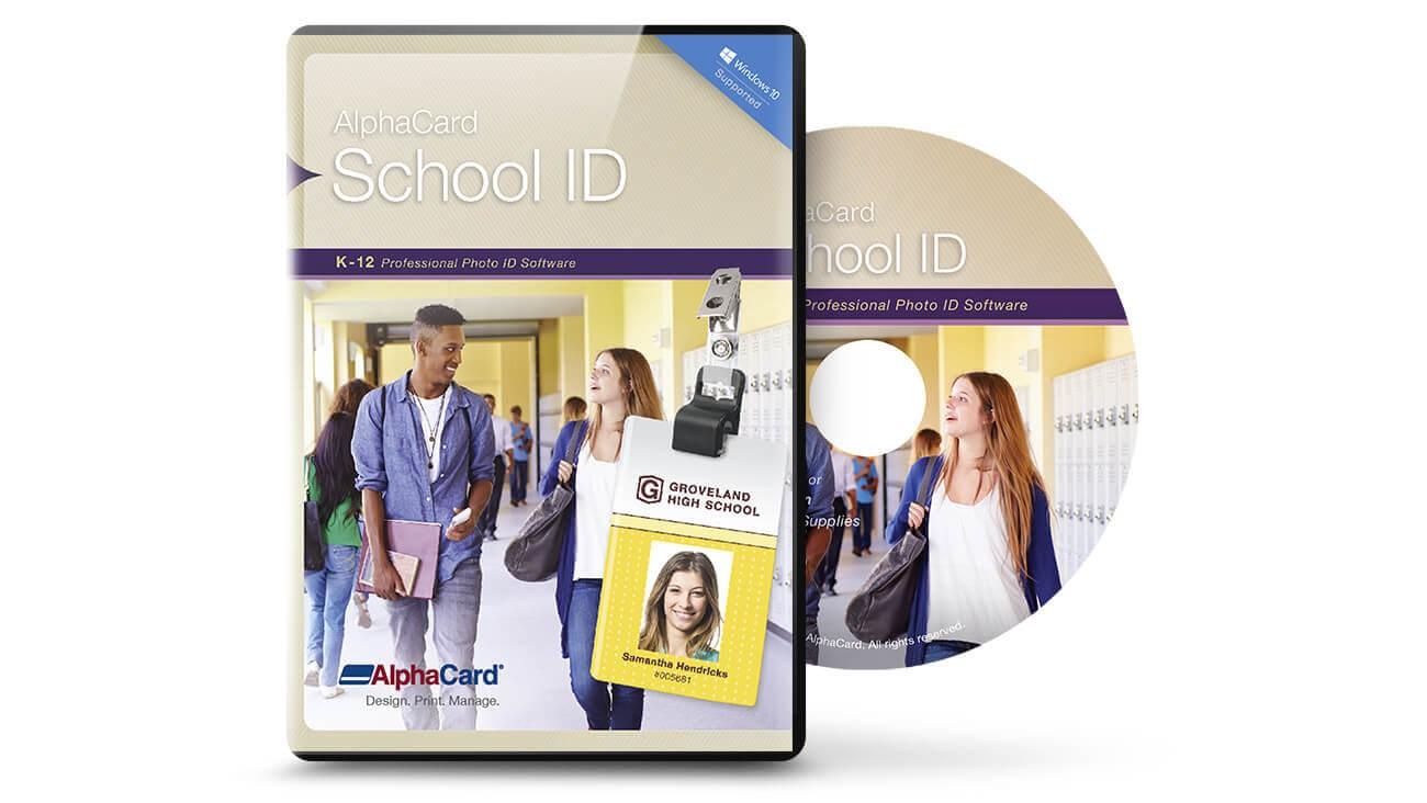 AlphaCard School ID Professional