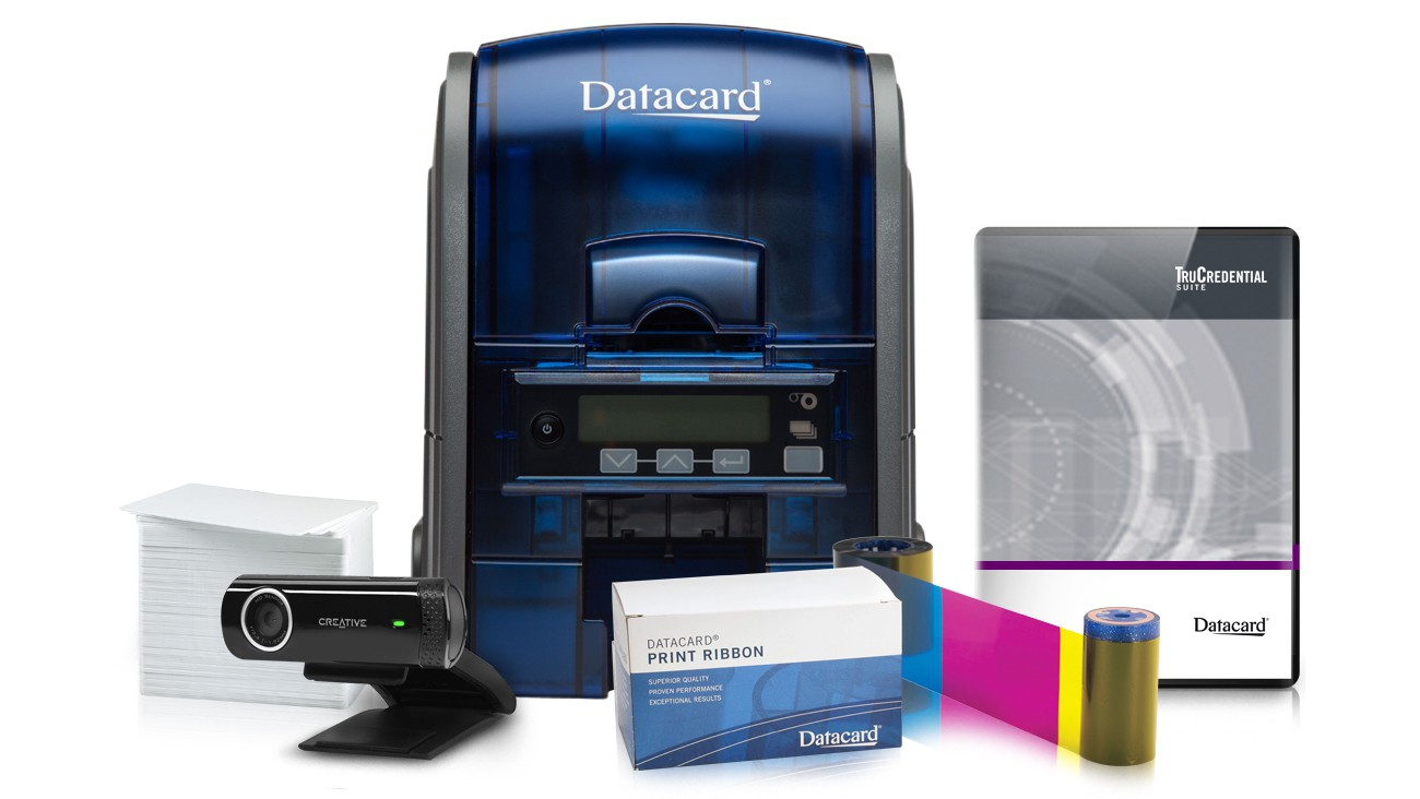 Datacard EZ-ID SD160 ID Card Printer System