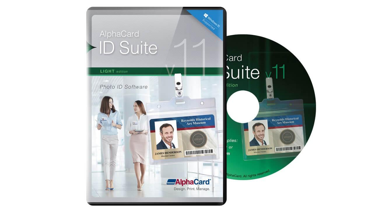 AlphaCard ID Suite Light Software