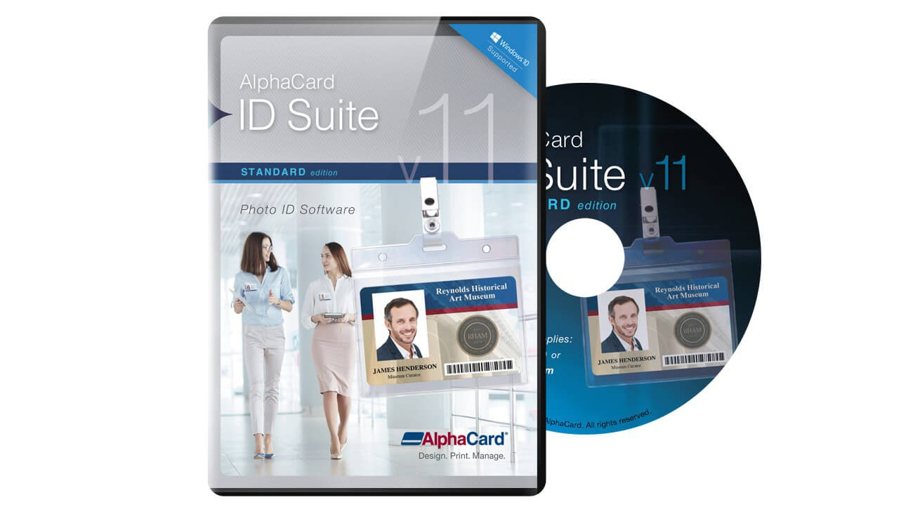 AlphaCard ID Suite Standard Software
