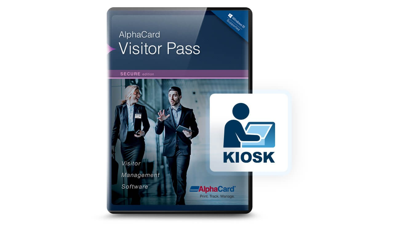 AlphaCard Visitor Pass Kiosk Software