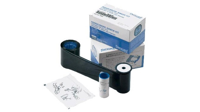 Entrust Datacard KT Black Ribbon w/ Cleaning Kit 534000-005 | 1,000 images