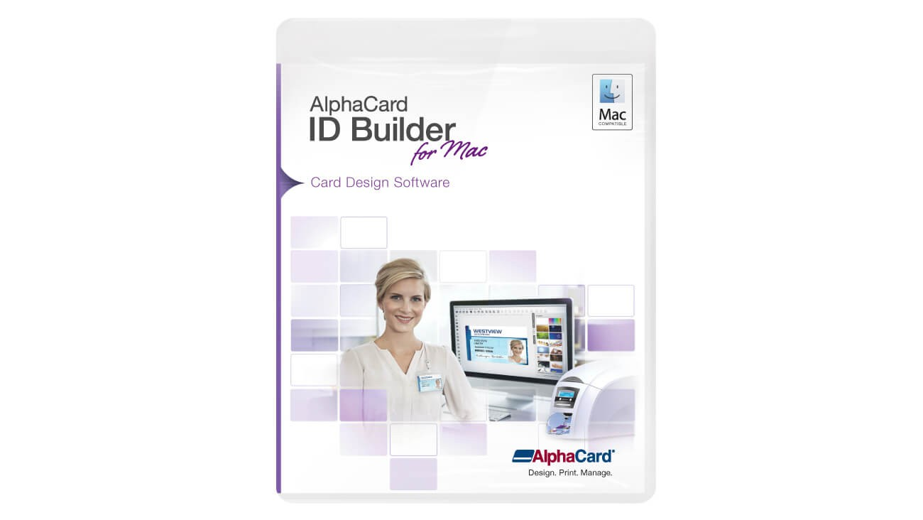 AlphaCard ID Builder Basic Software