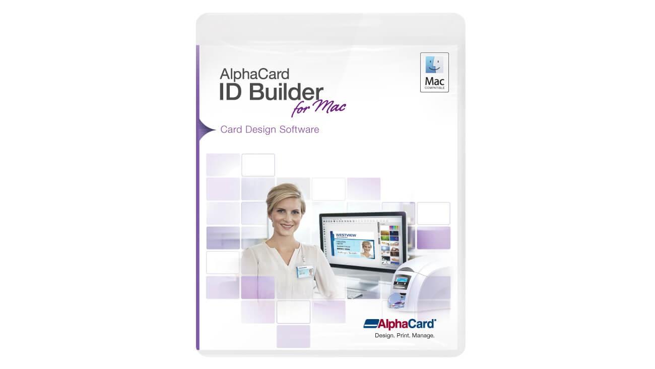 AlphaCard ID Builder Standard Software