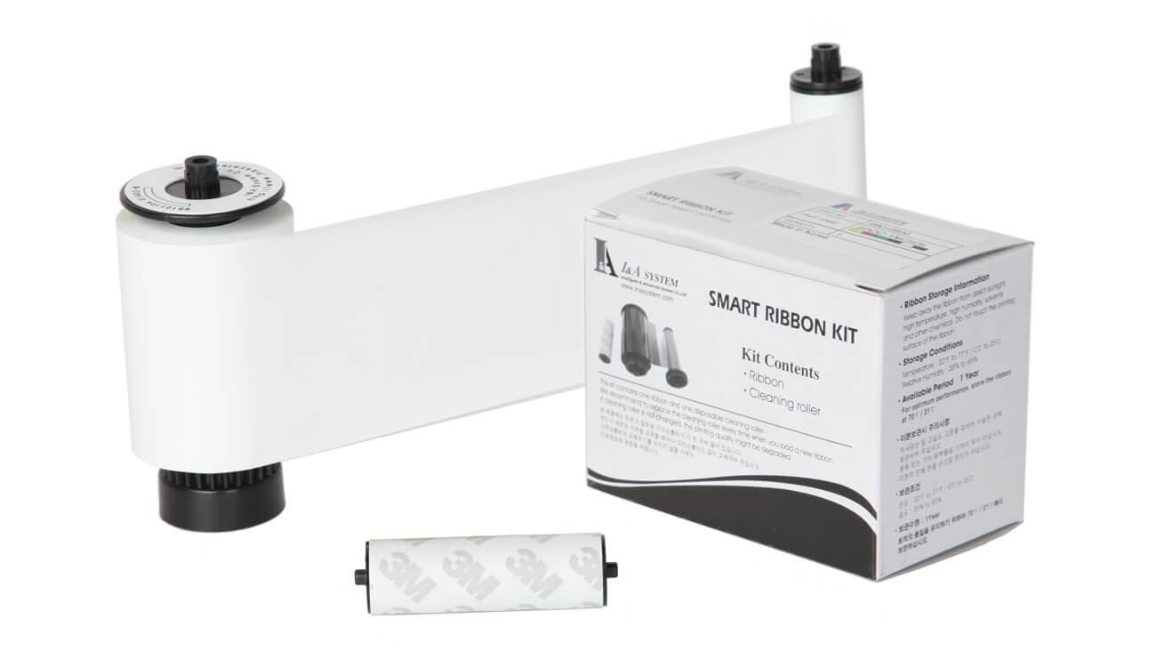IDP White Monochrome Ribbon Kit – 1,200 Prints