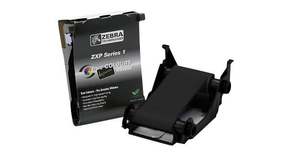 Zebra Load-N-Go monochrome ribbon for ZXP Series 1 - Black (K), 1000 Prints