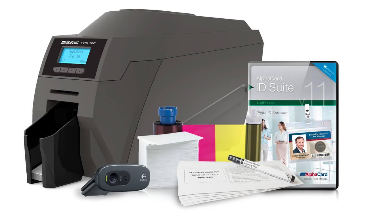 AlphaCard PRO 700 ID Card Printer