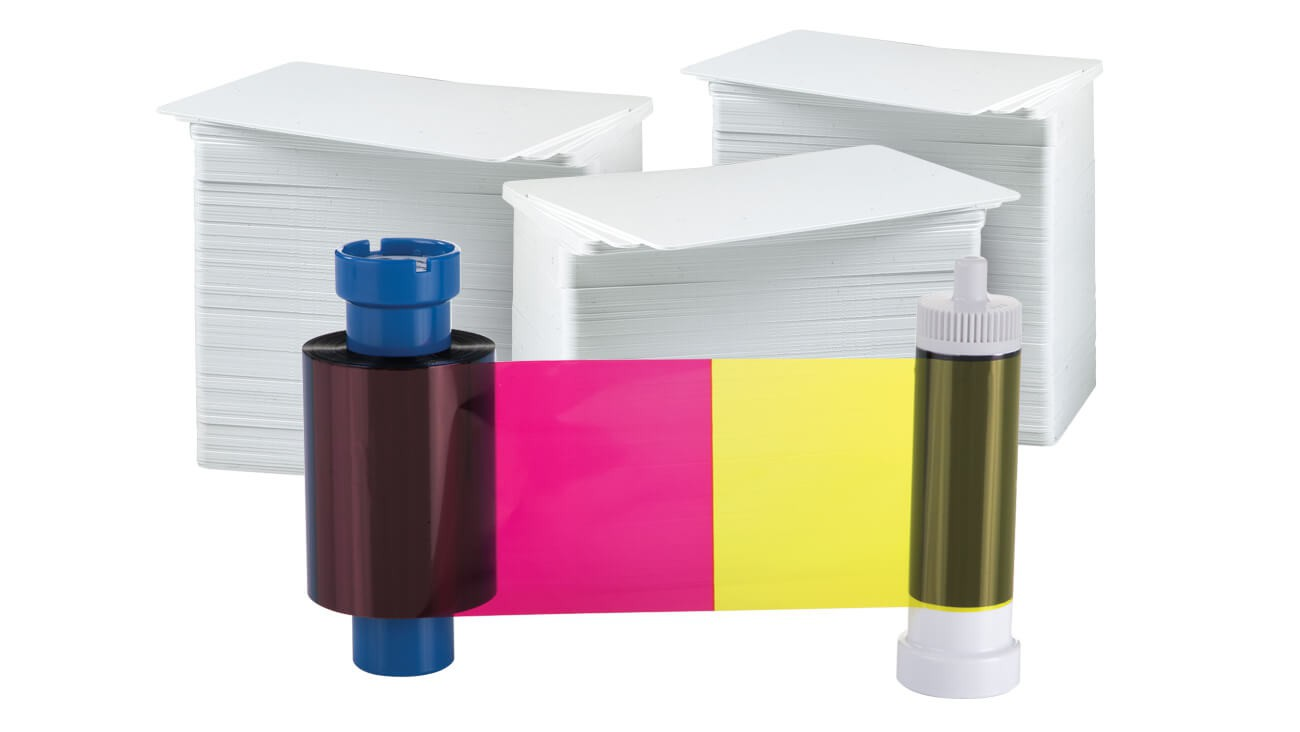 AlphaCard PRO YMCKO 300 Print Ribbon/Card Pack