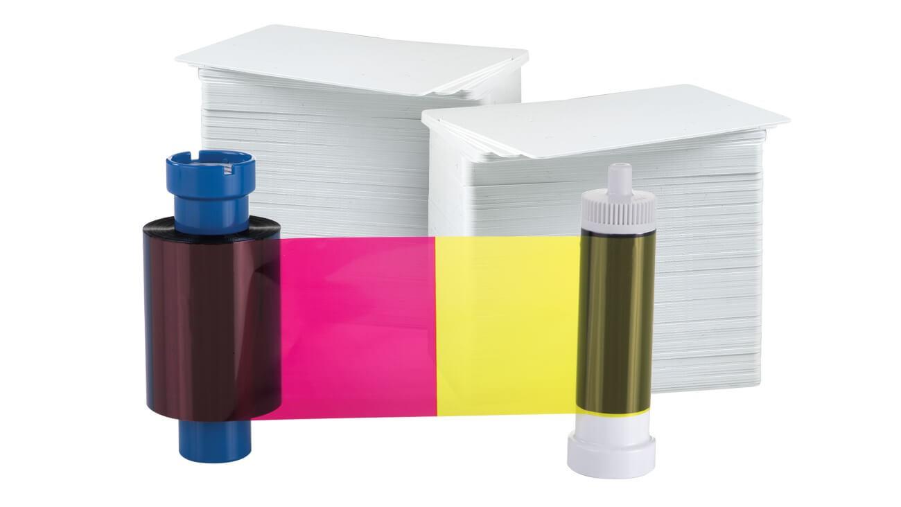 AlphaCard PRO YMCKOK 250 Print Ribbon/Card Pack
