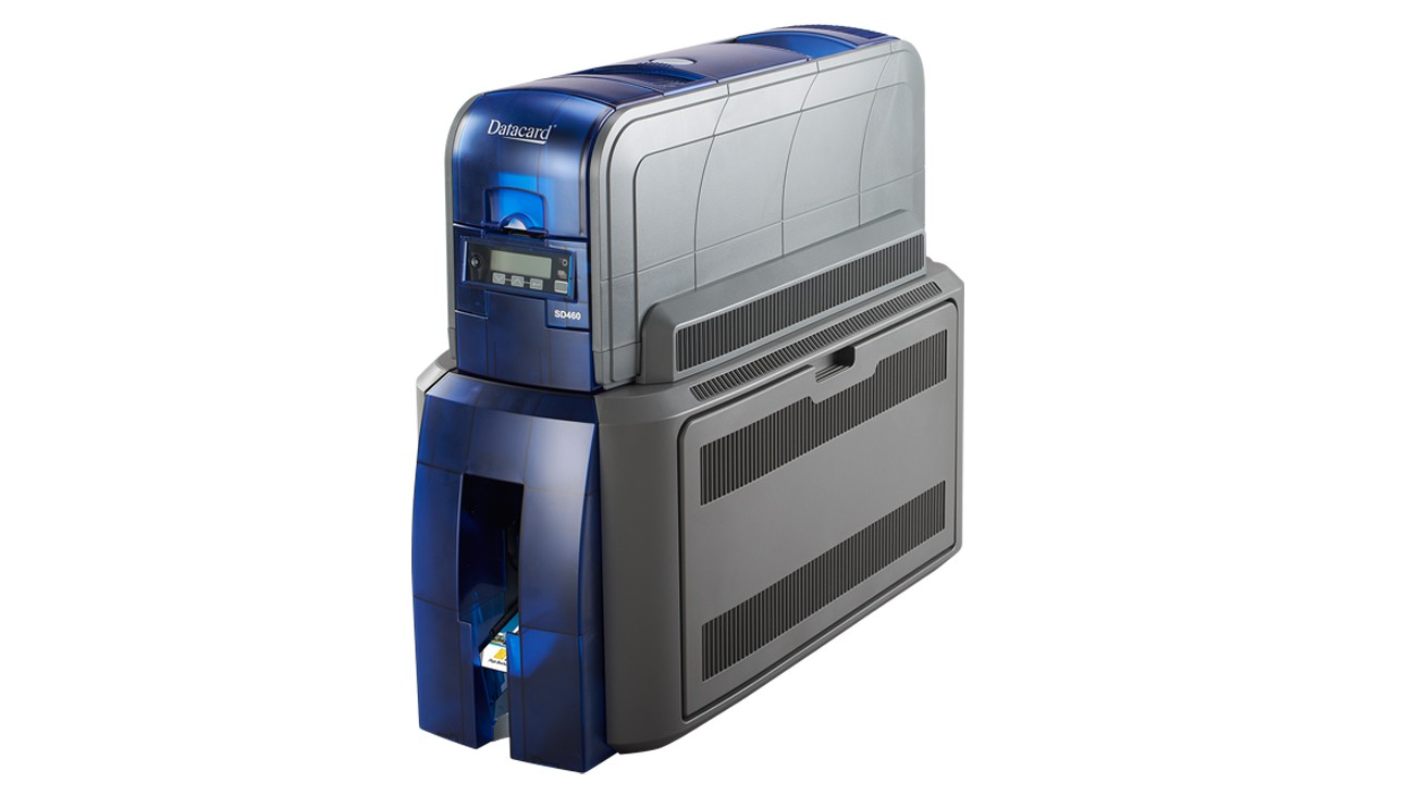 Datacard SD460 ID Card Printer with Laminator & Tactile Impressor