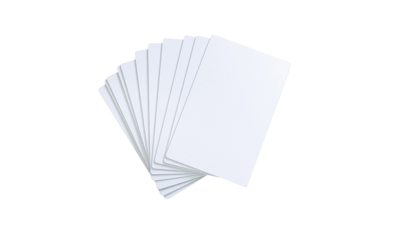 SwiftColor Oversized PVC Cards – 100 Count