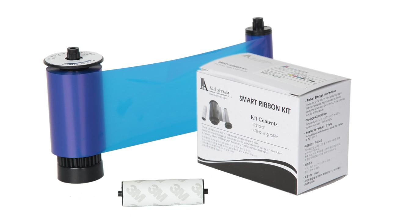 IDP Resin Blue Monochrome Ribbon Kit – 3000 Prints