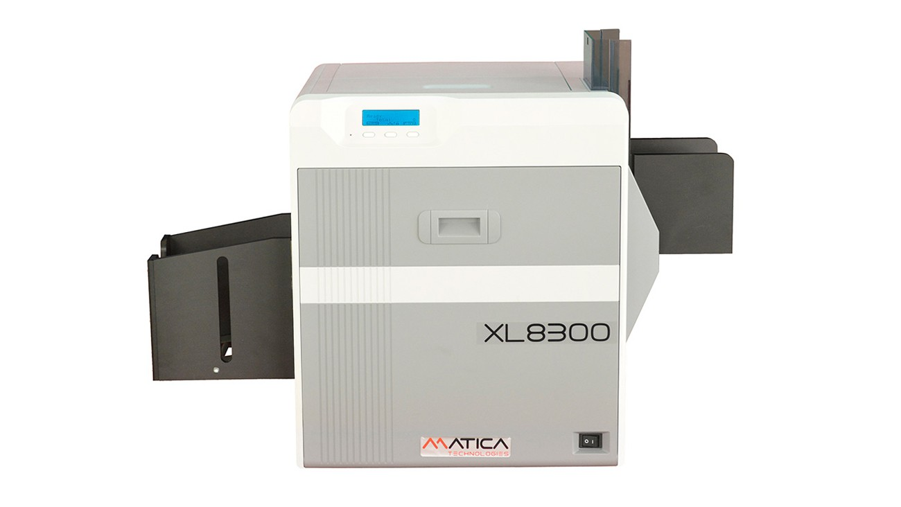 Matica XL8300 Large-Format Credential ID Card Printer