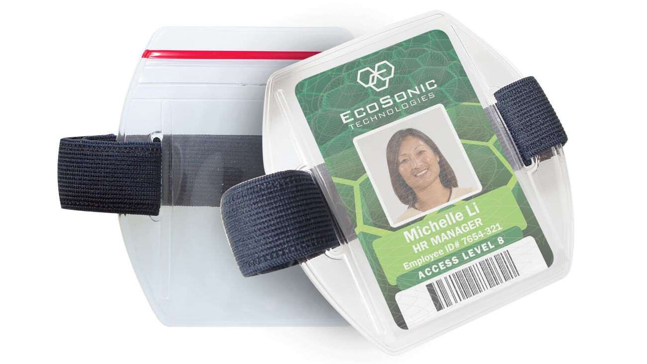 Armband Badge Holders – Pack of 25