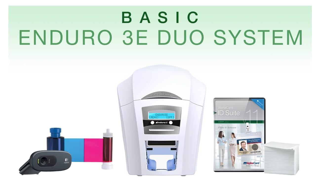 Basic Duplex HoloKote ID Card System